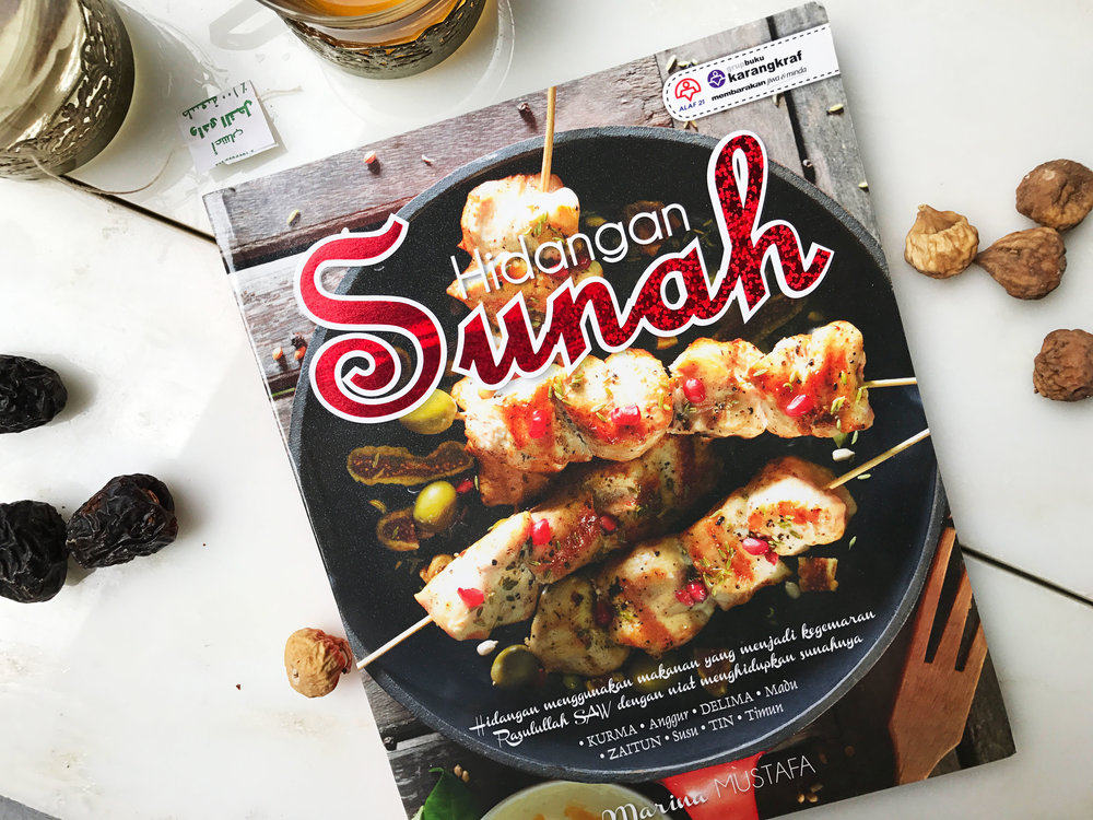 Hidangan Sunnah - Eleven ingredients mentioned in the Al-Quran was handpicked and used as a base for 111 contemporary recipes, highlighting that ingredients from 1,500 years ago which was enjoyed by Prophet Muhammad (pbuh) are still applicable today.