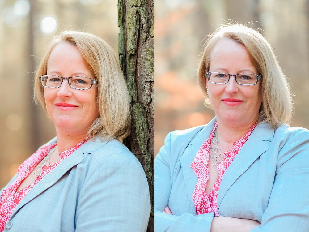 Headshot at Umstead Park