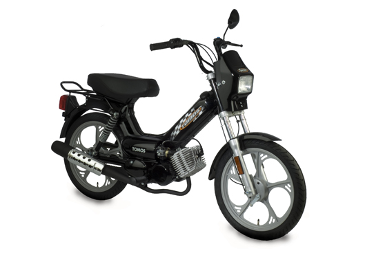 The Tomos Sprint - favored for its classic moped styling - was Tomos USA's base model and standard offering until imports ceased in 2013