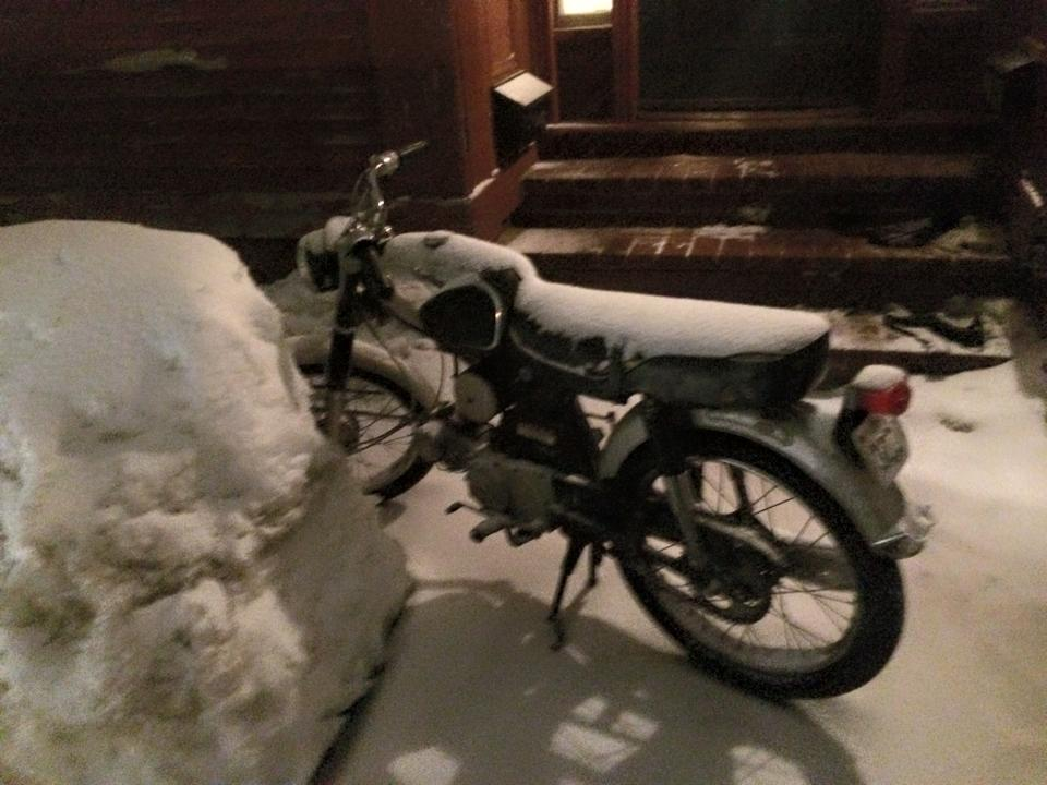 Winterize Your Moped For Winter Storage — Port City Mopeds