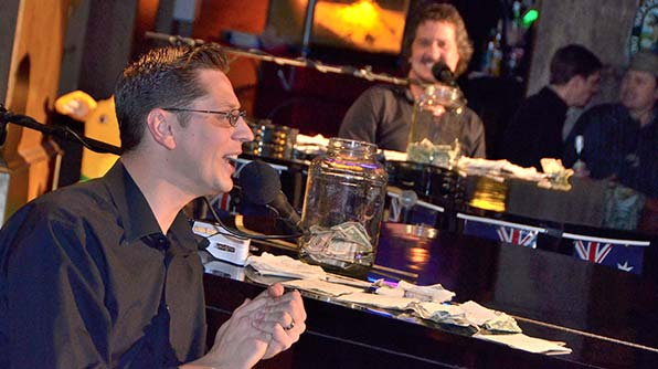 Dueling Pianos    Twice the Fun, audience request entertainment