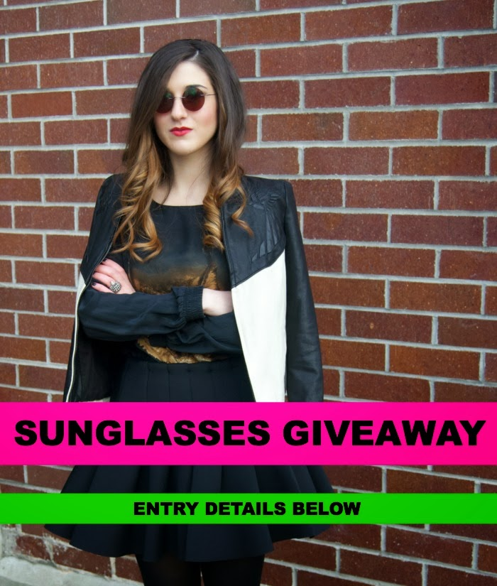 Firmoo sunglasses giveaway - Louboutins and Love Fashion Blog