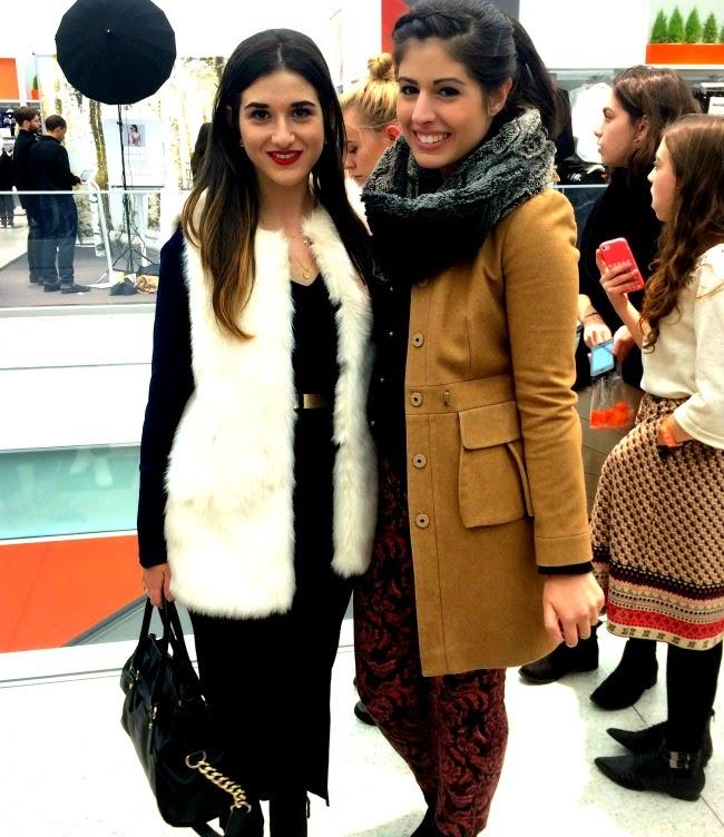 me and my friend, Shira