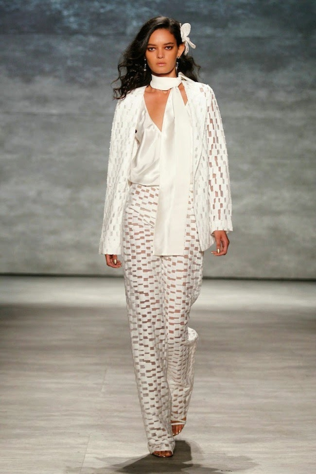 NYFW Georgine Fashion Show Summer/Spring 2015 - Louboutins and Love Fashion Blog by Esther Santer