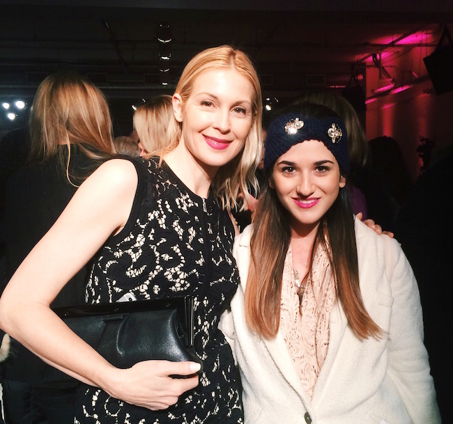 me and Kelly Rutherford