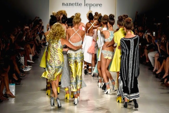 dance party on the runway