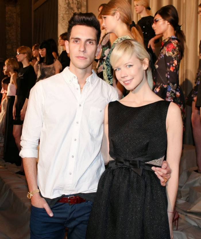 Erin Fetherston with husband and Cobra Starship frontman, Gabe Saporta