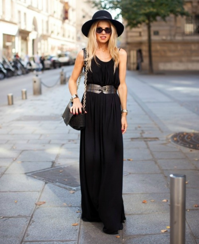 Rachel Zoe looking like perfection in her signature maxi dress