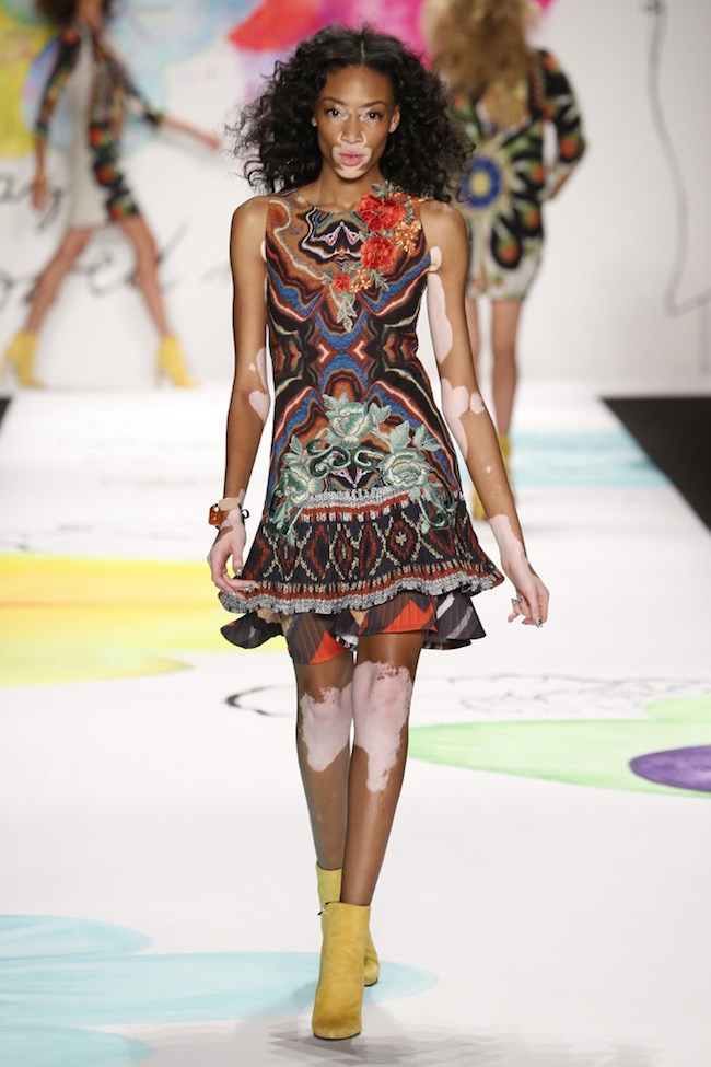 NYFW Desigual Fashion Show Fall/Winter 2015 - Louboutins and Love Fashion Blog by Esther Santer