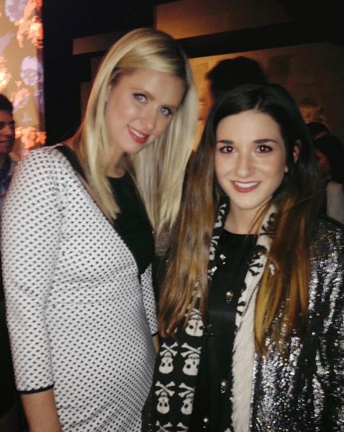 me with Nikki Hilton