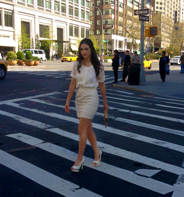 white+on+white+louboutins+and+love+fashion+blog+personal+style+belt+shirt+skirt+chiffon+jewelry+clutch+ring+shoes+H&M+Enzo+Angiolini+NYC+lincoln+center+new+york+city+outfit+beautiful+pretty+model+esther+santer+street+crosswalk+heels+hair+outfit+want.png