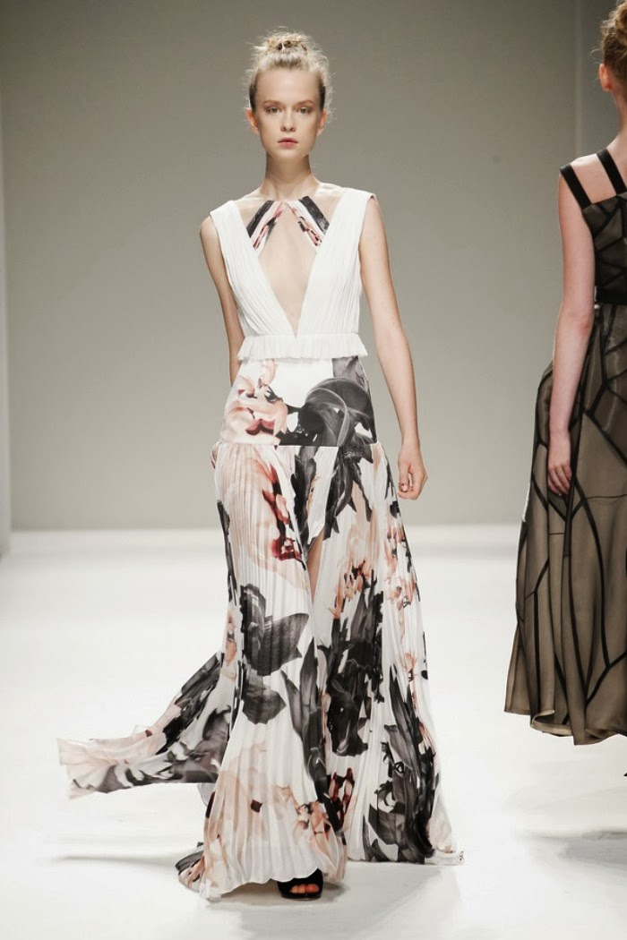 NYFW Bibhu Mohapatra spring 2014 fashion show - Louboutins and Love Fashion Blog