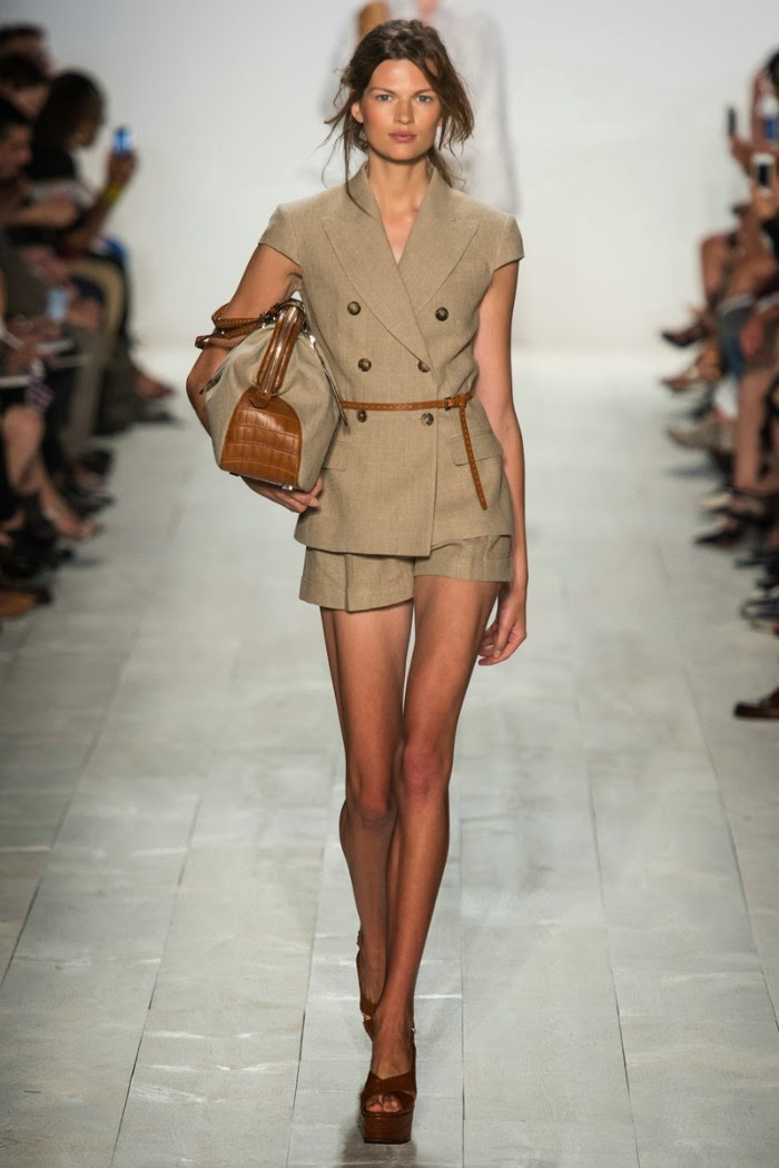 NYFW+Michael+Kors+Spring+Summer+2014+Fashion+Show+louboutins+and+love+fashion+blog+designer+celebrity+inspiration+beautiful+model+runway+white+sandals+bag+makeup+beauty+hair+floral+belt+collar+vest+trench+coat+bikini+dress+skirt+shirt+shorts+pants.jpg