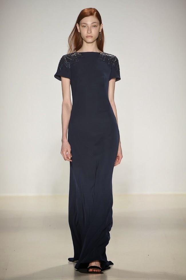 NYFW Tadashi Shoji Fashion Show Fall/Winter 2015 - Louboutins and Love Fashion Blog by Esther Santer