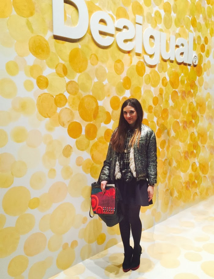 NYFW Desigual Fashion Show Fall/Winter 2014 - Louboutins and Love Fashion Blog