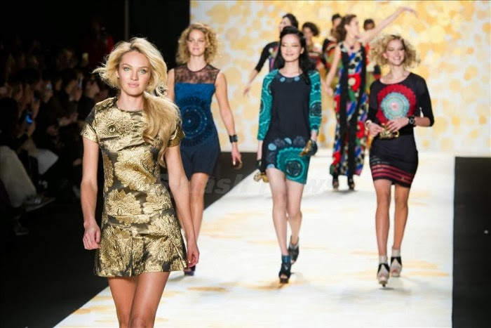 NYFW Desigual Fashion Show Fall/Winter 2014 Louboutins and Love Fashion Blog