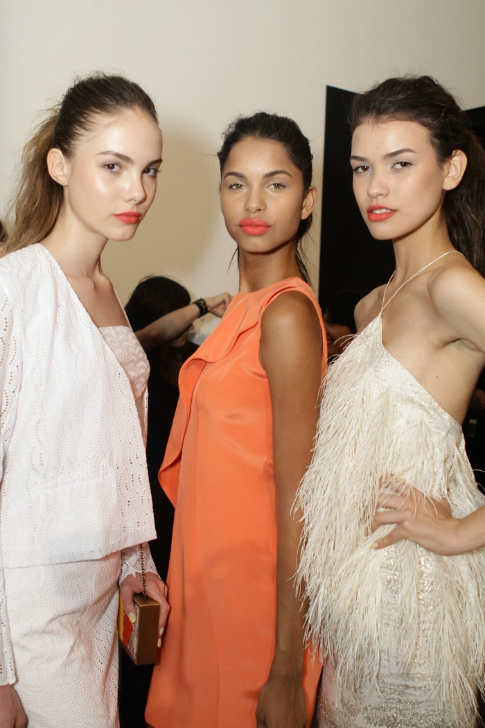 christian siriano models backstage