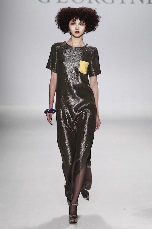 NYFW Georgine Fashion Show Fall/Winter 2015 - Louboutins and Love Fashion Blog by Esther Santer