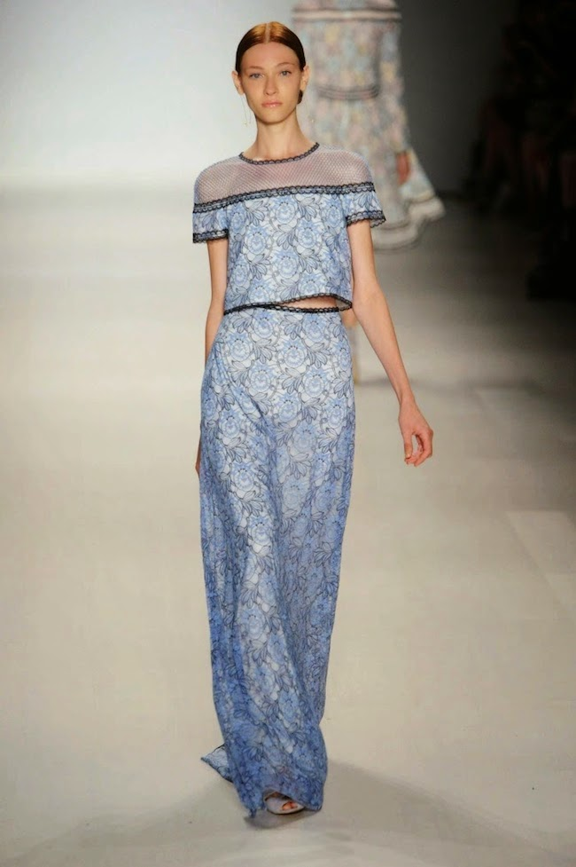 NYFW Tadashi Shoji Fashion Show Summer/Spring 2015 - Louboutins and Love Fashion Blog by Esther Santer