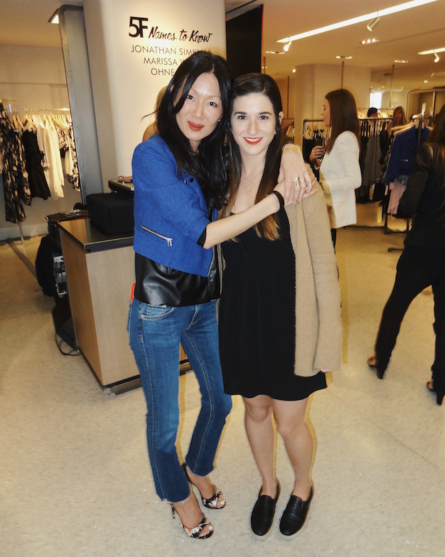 me and fashion designer Marissa Webb