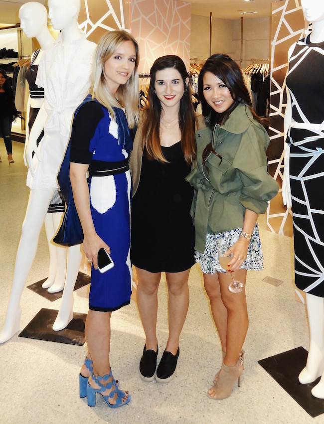Charlotte from The Fashion Guitar, me, and Wendy Nguyen from Wendy's Lookbook