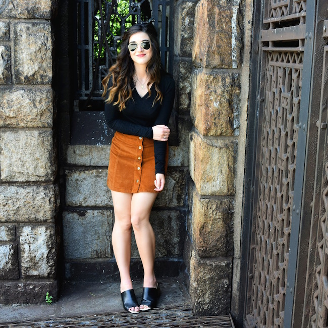 Ray-Ban+Aviators+And+Corduroy+Pret+A+Voir+Louboutins+&+Love+Fashion+Blog+Esther+Santer+blogger+NYC+Street+Style+Sunglasses+Summer+Outfit+OOTD+Shopping+Glasses+Clubmasters+Skirt+Topshop+Black+Shirt+Uniqlo+Zara+Mules+Girl+Women+Inspiration+Inspo+Shoes.jpg