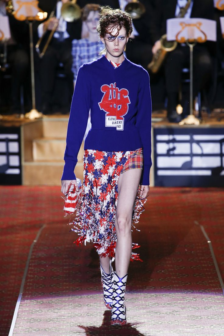 Marc Jacobs L_L Spotlight Louboutins _ Love Fashion Blog Esther Santer NYC Street Style Blogger Runway NYFW Models Sweater Blue Skirt Shoes Booties Outfit Beautiful Pretty Shopping Colorful Fringe Chic Stripes Tailor Circus Sparkles Red Details Makeup.jpg