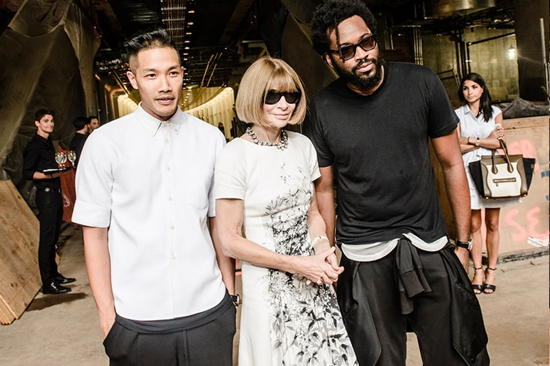 Public School L&L Spotlight Louboutins & Love Fashion Blog Esther Santer NYC Street Style Blogger Dao-Yi Chow and Maxwell Osborne Anna Wintour New York Fashion Week Backstage Vogue Sunglasses Designers Editor in Cheif .jpg