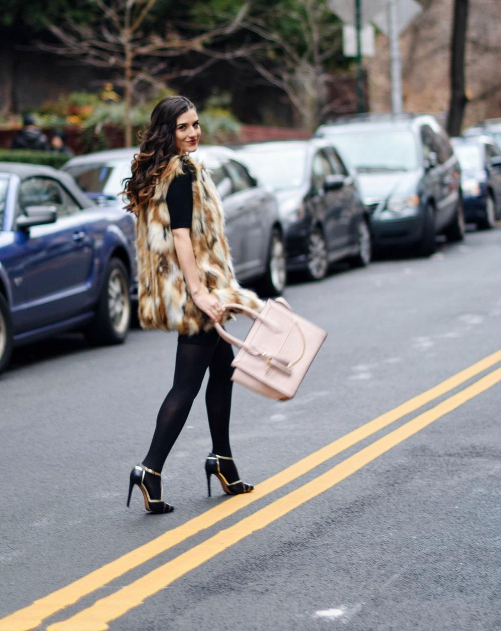 f9530253f9c0 Calico fur henri bendel structured leather bag louboutins love fashion blog  esther santer street jpg 750x944