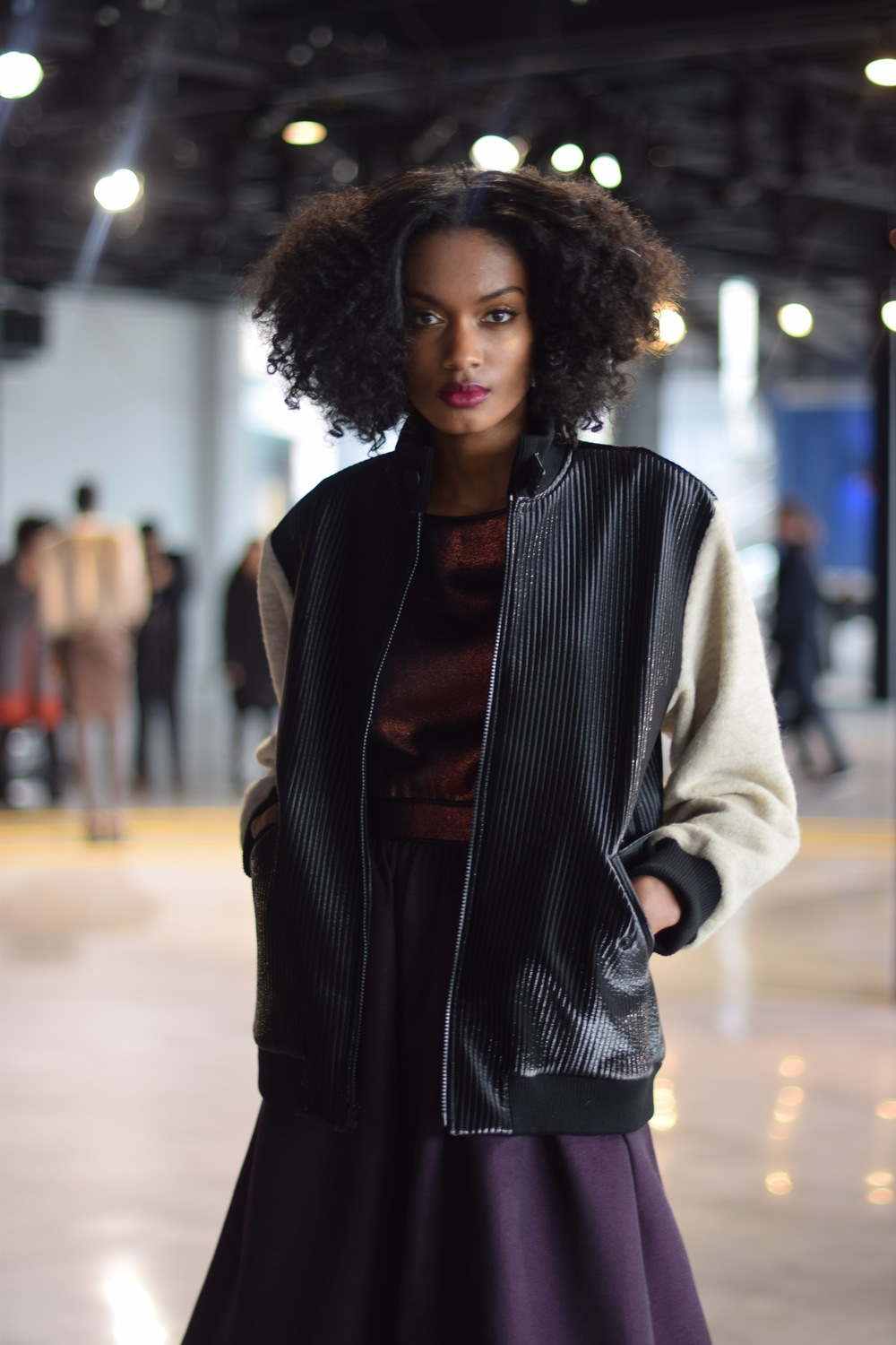 NYFW Saunder Fashion Presentation Fall:Winter 2016 Louboutins & Love Fashion Blog Esther Santer NYC Street Style Runway Models Collection Hair Beauty Inspo Front Row Press Event Coverage Photos Details Dress Gown Beautiful Trends Pretty Shop Gorgeous.jpg