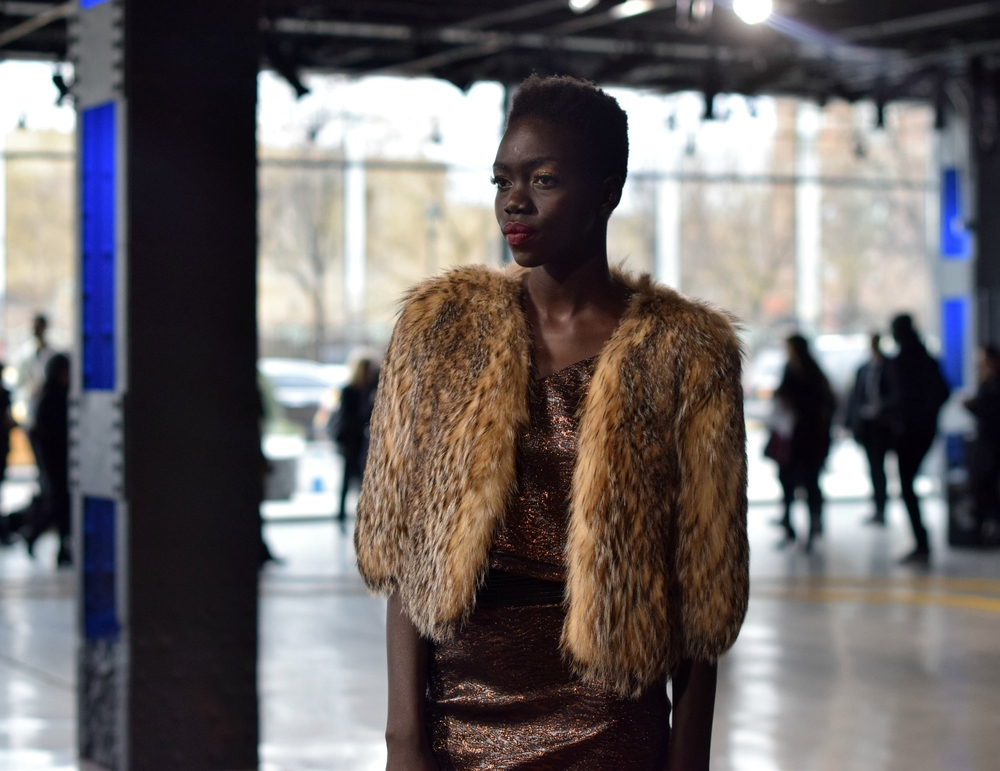 NYFW Saunder Fashion Presentation Fall:Winter 2016 Louboutins & Love Fashion Blog Esther Santer NYC Street Style Runway Models Collection Hair Beauty Inspo Front Row Press Event Coverage Photos Details Dress Gown Trends Shop Pretty Beautiful Gorgeous.jpg