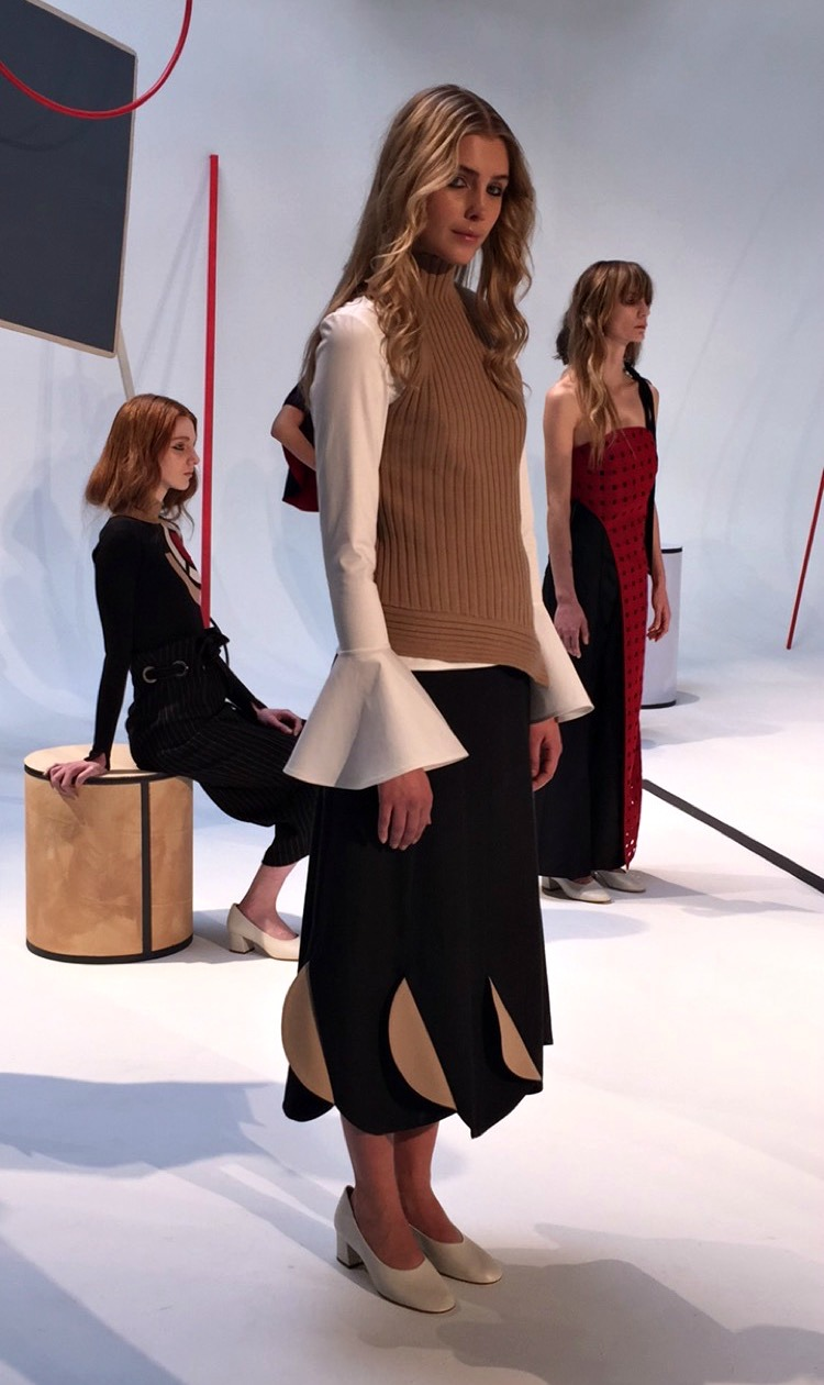 NYFW A Moi Fashion Presentation Fall:Winter 2016 Louboutins & Love Fashion Blog Esther Santer NYC Street Style Runway Models Collection Press Coverage Photos Details Dress Gown Beautiful Gorgeous Stunning Pretty Shop New York City Celebrities 4.JPG
