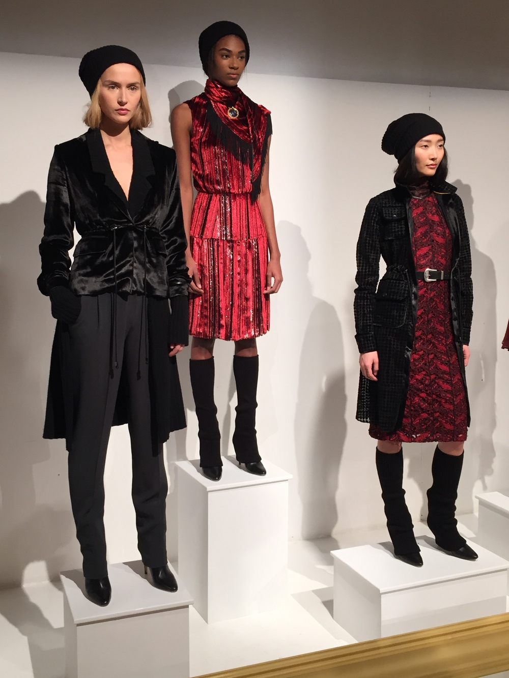 NYFW Hanley Fashion Presentation Fall:Winter 2016 Louboutins & Love Fashion Blog Esther Santer NYC Street Style Runway Models Collection Press Coverage Photos Details Dress Gown Beautiful Gorgeous Stunning Pretty Shop New York City Celebrities 5.JPG