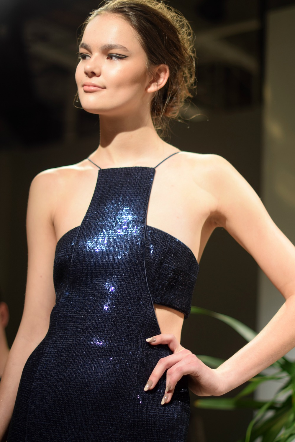 NYFW Jay Godfrey Fashion Presentation Fall:Winter 2016 Louboutins & Love Fashion Blog Esther Santer NYC Street Style Runway Models Collection Press Coverage Photos Details Dress Gown Beautiful Gorgeous Stunning Pretty Shop New York City Celebrities 1.jpg