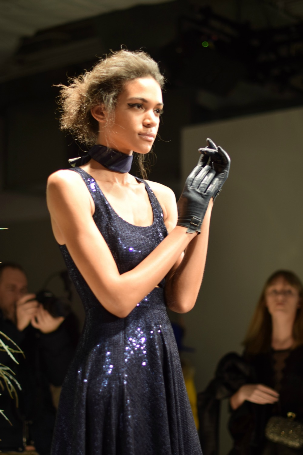 NYFW Jay Godfrey Fashion Presentation Fall:Winter 2016 Louboutins & Love Fashion Blog Esther Santer NYC Street Style Runway Models Collection Press Coverage Photos Details Dress Gown Beautiful Gorgeous Stunning Pretty Shop New York City Celebrities 3.jpg