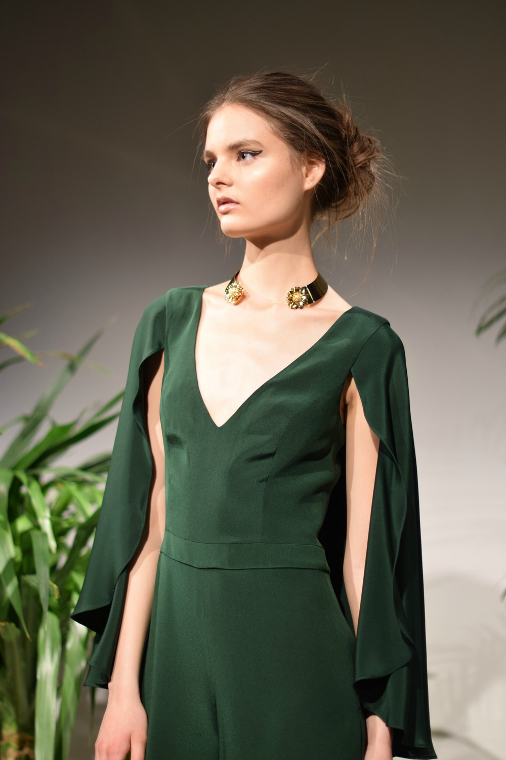 NYFW Jay Godfrey Fashion Presentation Fall:Winter 2016 Louboutins & Love Fashion Blog Esther Santer NYC Street Style Runway Models Collection Press Coverage Photos Details Dress Gown Beautiful Gorgeous Stunning Pretty Shop New York City Celebrities 11.jpg