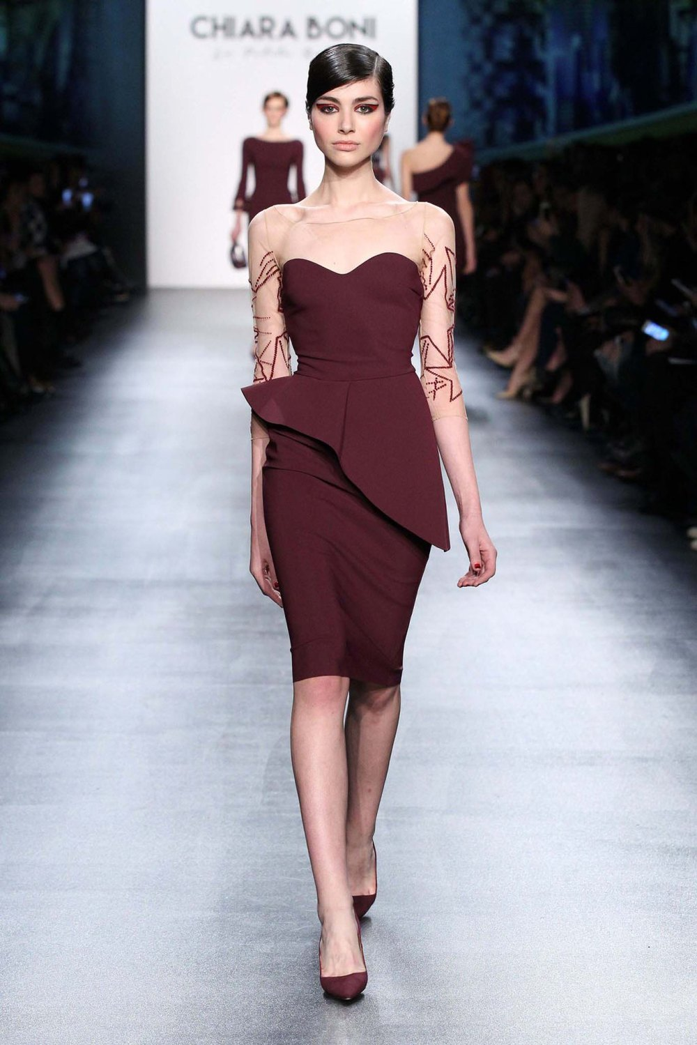 Chiara Boni The Most Popular Dress In America: NYFW Chiara Boni Fashion Show Fall/Winter 2016