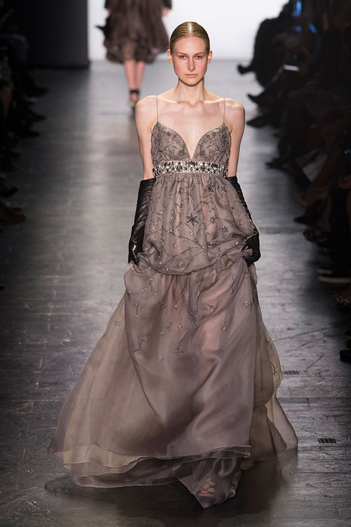 NYFW Dennis Basso Fashion Show Fall/Winter 2016 — Esther Santer