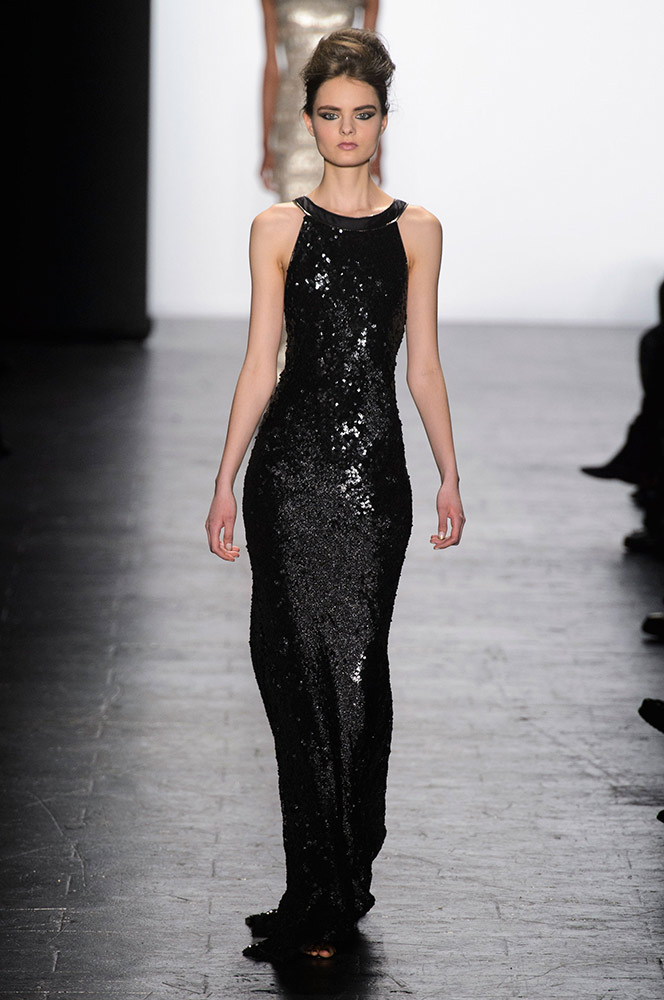 NYFW Carmen Marc Valvo Fashion Show Fall Winter 2016 Louboutins & Love Fashion Blog Esther Santer NYC Street Style Models Collection Hair Trends Pretty Inspo Press Event Coverage Details Photos Gown  Fur Outfit Beautiful Dress Evening Wear Shoes Red.jpg