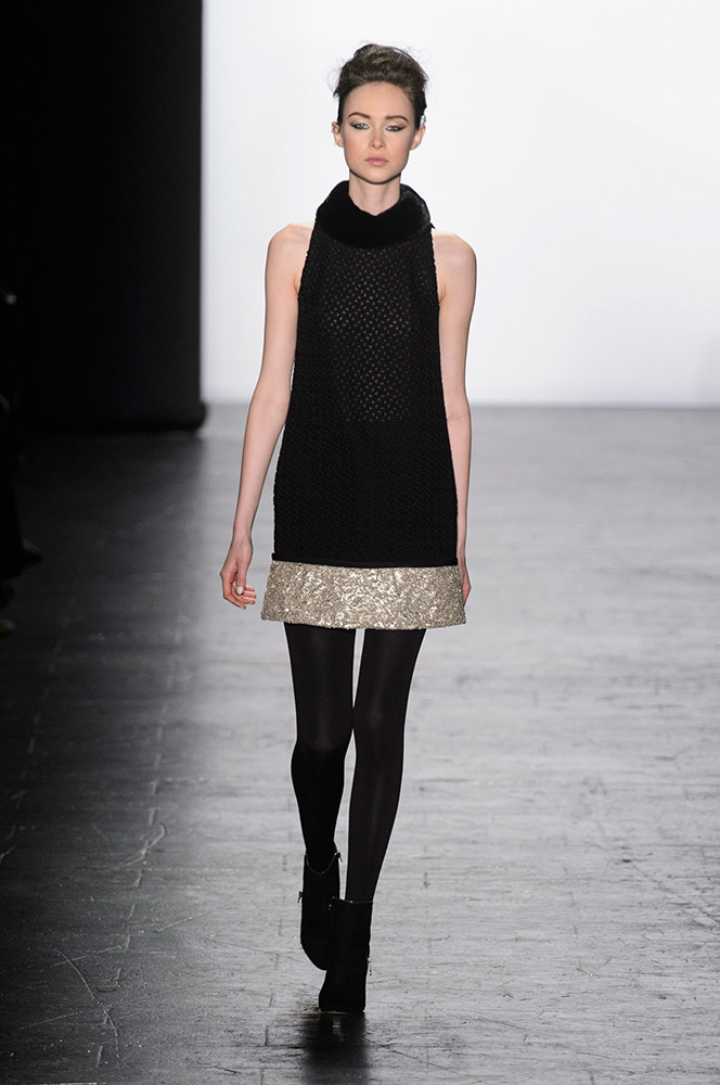 NYFW Carmen Marc Valvo Fashion Show Fall Winter 2016 Louboutins & Love Fashion Blog Esther Santer NYC Street Style Models Collection Hair Trends Pretty Inspo Press Event Coverage Details Photos Gown Dress Beautiful Evening Wear Shoes Outfit Red Fur.jpg