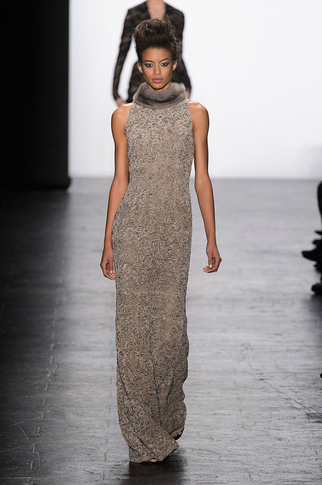 NYFW Carmen Marc Valvo Fashion Show Fall Winter 2016 Louboutins & Love Fashion Blog Esther Santer NYC Street Style Models Collection Hair Trends Pretty Inspo Press Event Coverage Details Photos Gown Dress Beautiful Shoes Outfit Evening Wear Red Fur.jpg
