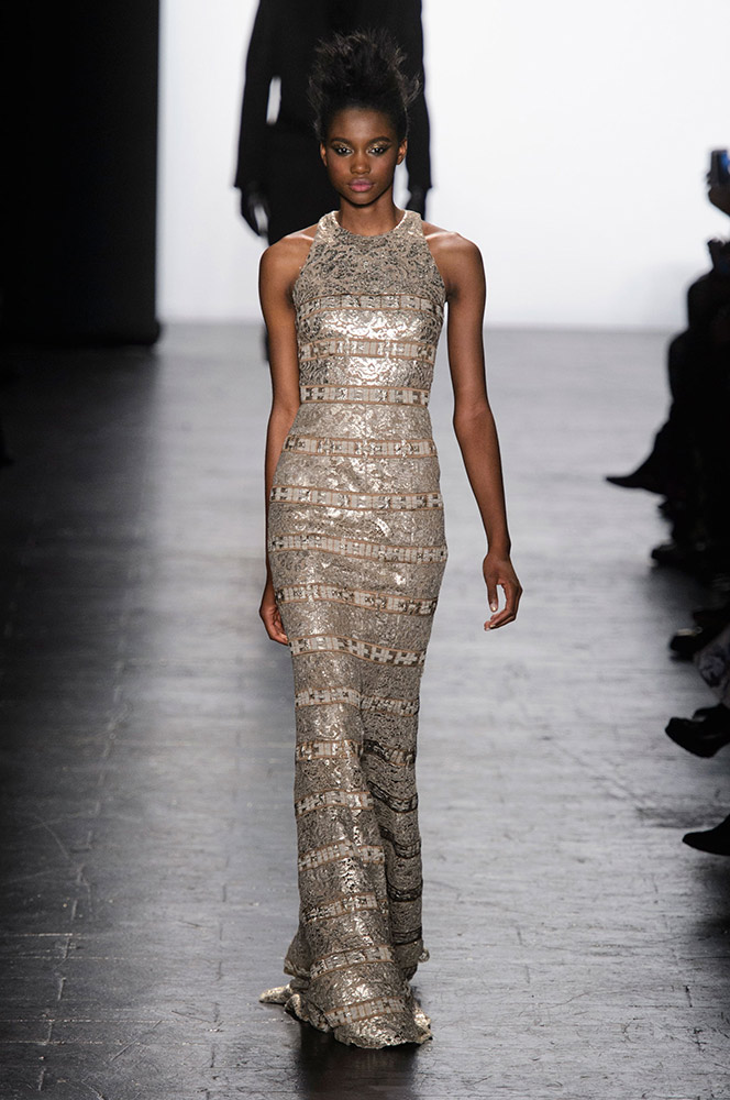 NYFW Carmen Marc Valvo Fashion Show Fall Winter 2016 Louboutins & Love Fashion Blog Esther Santer NYC Street Style Models Collection Hair Trends Pretty Inspo Press Event Coverage Details Photos Gown Dress Outfit Beautiful Evening Wear Shoes Red Fur.jpg