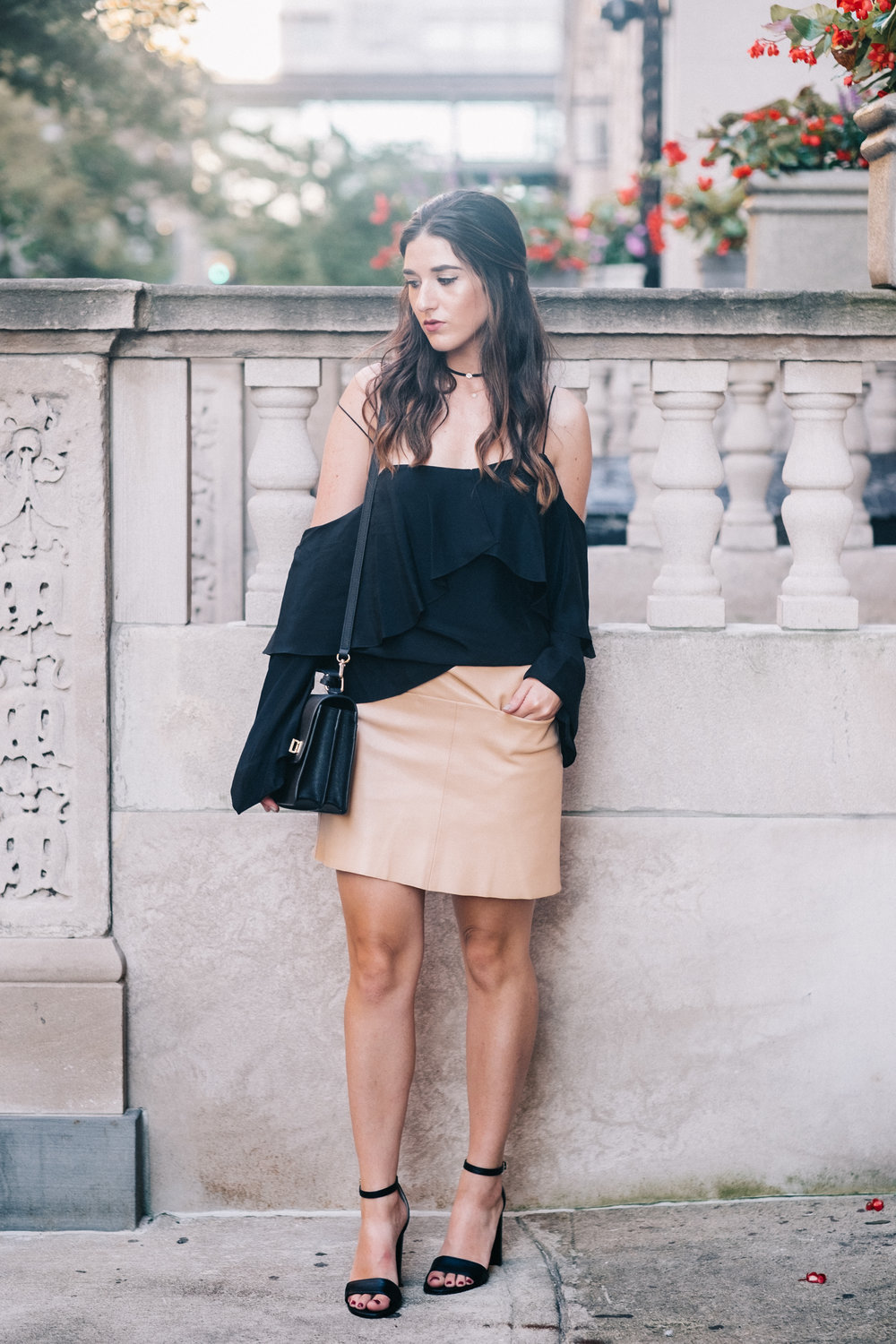 The+Perfect+Everyday+Bag+Henri+Bendel+Louboutins+&+Love+Fashion+Blog+Esther+Santer+NYC+Street+Style+Blogger+Outfit+OOTD+Trendy+Jay+Godfrey+Black+Cold+Shoulder+Top+Pink+Pleather+Skirt+Zara+Ivanka+Trump+Klover+Inspo+Sandals+Heels+Purse+Girl+Women+Hair.jpg