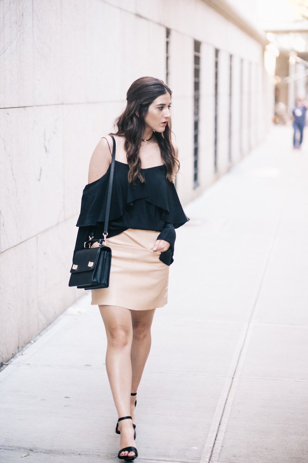The+Perfect+Everyday+Bag+Henri+Bendel+Louboutins+&+Love+Fashion+Blog+Esther+Santer+NYC+Street+Style+Blogger+Outfit+OOTD+Trendy+Jay+Godfrey+Black+Cold+Shoulder+Top+Pink+Pleather+Skirt+Zara+Ivanka+Trump+Klover+Sandals+Inspo+Heels+Women+Purse+Girl+Hair.jpg