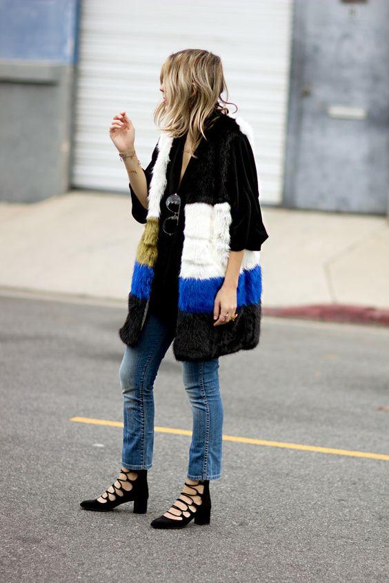 Louboutins & Love Fashion Blog Esther Santer Street Style Chic Fall Looks Cool Leather Brown Neutrals Hat Crossbody Bag Sunglasses Blonde Creame Zipper Women Lady Girl Cute Fur.jpg
