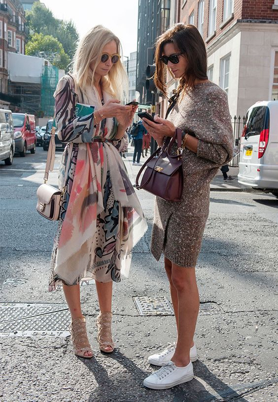 Louboutins & Love Fashion Blog Esther Santer Street Style Chic Fall Looks Cool Leather Brown Neutrals Hat Crossbody Bag Sunglasses Blonde Creame Zipper Women Lady Girl Cute Sweater Dress.jpg