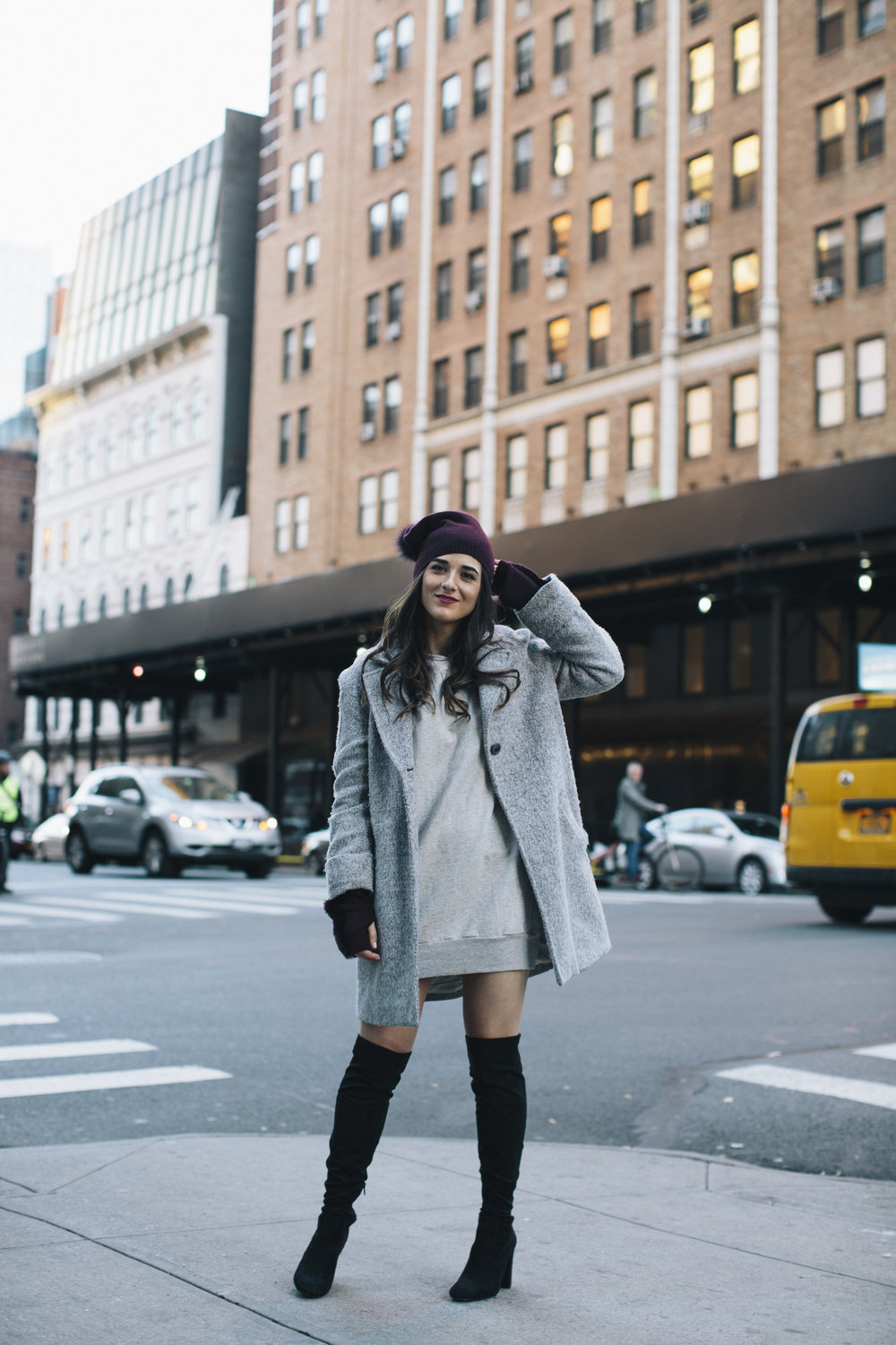 Cashmere Hat And Glove Set Piccolo New York Esther Santer