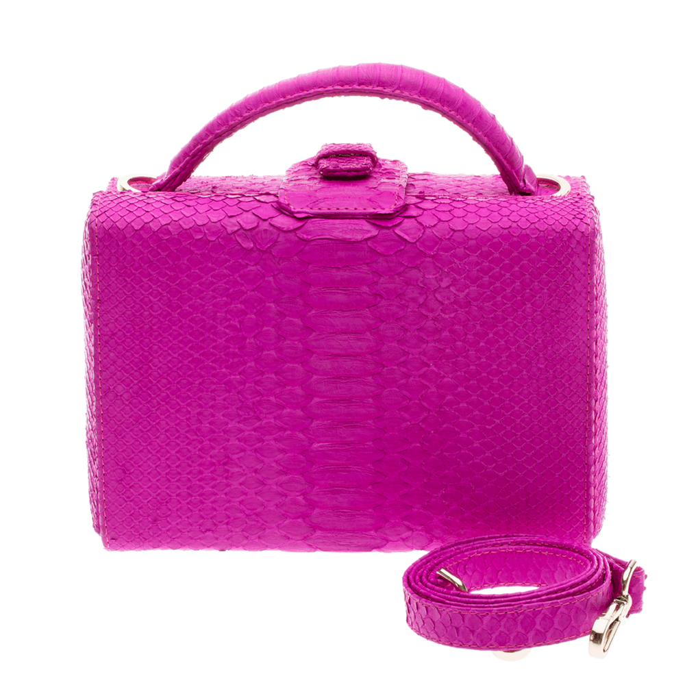 Caterina Hot Pink Plain Bag