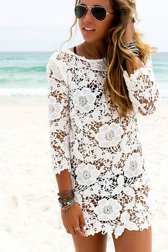The Floral Lace Dress