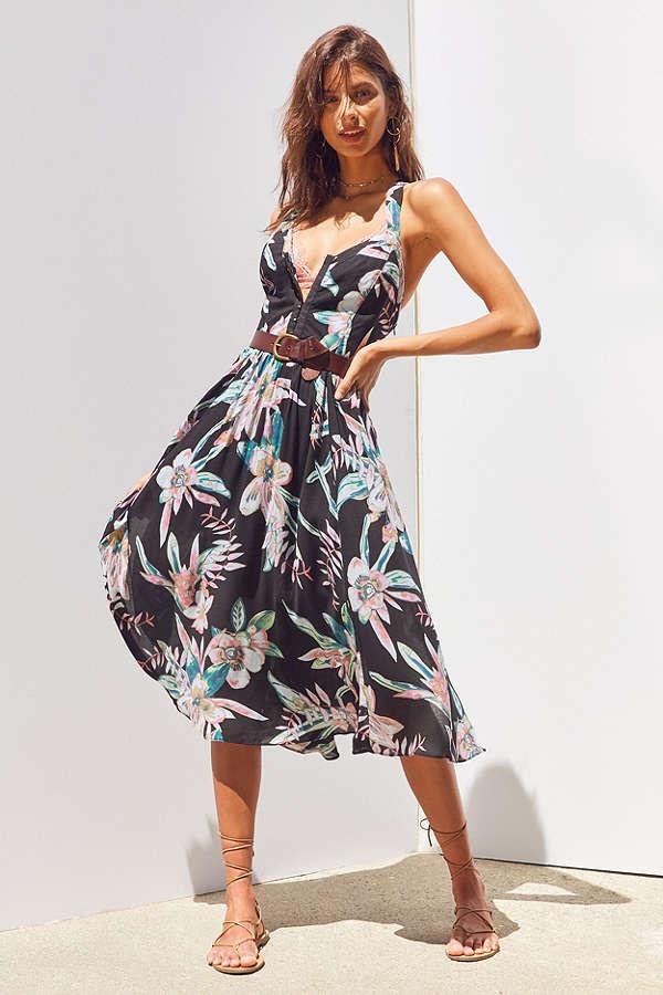 The Flirty Floral Dress